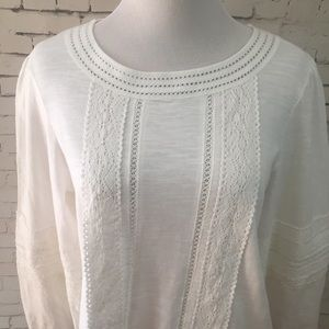 Alter'd State White Top Sz M